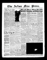 Acton Free Press (Acton, ON)23 Aug 1956