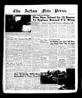 Acton Free Press (Acton, ON), October 11, 1956