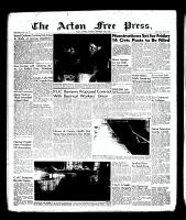 Acton Free Press (Acton, ON), November 22, 1956