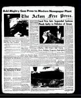 Acton Free Press (Acton, ON)1 Aug 1957