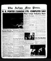 Acton Free Press (Acton, ON)15 Aug 1957