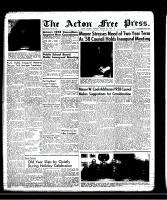 Acton Free Press (Acton, ON), January 9, 1958