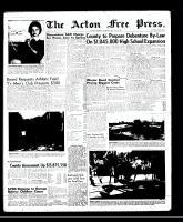 Acton Free Press (Acton, ON), May 22, 1958
