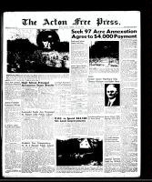 Acton Free Press (Acton, ON), July 3, 1958