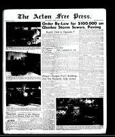 Acton Free Press (Acton, ON), July 10, 1958