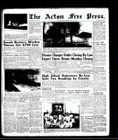 Acton Free Press (Acton, ON), July 17, 1958