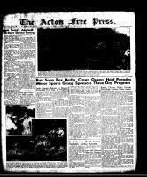 Acton Free Press (Acton, ON), August 7, 1958