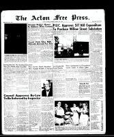 Acton Free Press (Acton, ON), August 14, 1958