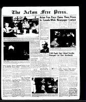 Acton Free Press (Acton, ON), September 4, 1958