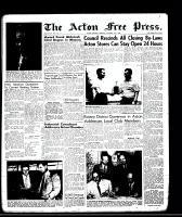 Acton Free Press (Acton, ON), September 11, 1958