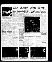 Acton Free Press (Acton, ON), September 18, 1958