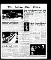 Acton Free Press (Acton, ON), October 2, 1958