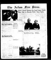 Acton Free Press (Acton, ON), October 9, 1958