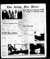 Acton Free Press (Acton, ON), October 16, 1958