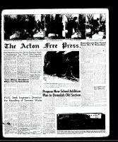 Acton Free Press (Acton, ON)13 Nov 1958