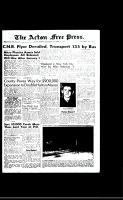 Acton Free Press (Acton, ON), December 31, 1958