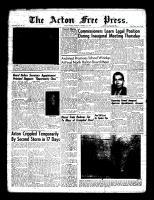 Acton Free Press (Acton, ON), January 14, 1960