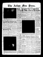 Acton Free Press (Acton, ON), January 21, 1960