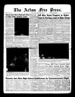 Acton Free Press (Acton, ON), January 28, 1960