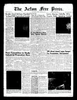 Acton Free Press (Acton, ON), February 4, 1960