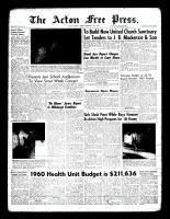 Acton Free Press (Acton, ON), February 18, 1960