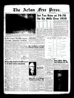 Acton Free Press (Acton, ON), March 31, 1960