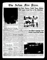 Acton Free Press (Acton, ON)11 Aug 1960