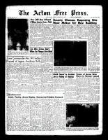 Acton Free Press (Acton, ON), September 22, 1960