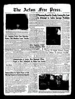 Acton Free Press (Acton, ON), October 20, 1960