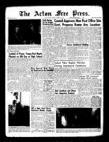Acton Free Press (Acton, ON), October 27, 1960