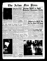 Acton Free Press (Acton, ON), November 3, 1960