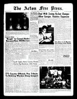 Acton Free Press (Acton, ON), December 15, 1960