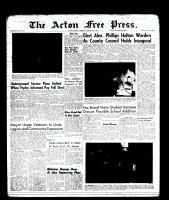 Acton Free Press (Acton, ON), January 19, 1961