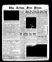 Acton Free Press (Acton, ON), January 26, 1961