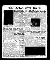 Acton Free Press (Acton, ON), February 9, 1961