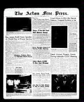 Acton Free Press (Acton, ON), February 23, 1961