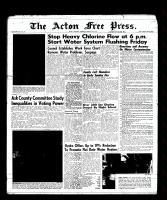 Acton Free Press (Acton, ON), March 2, 1961
