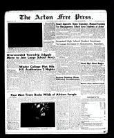 Acton Free Press (Acton, ON), March 9, 1961
