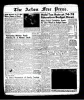 Acton Free Press (Acton, ON), March 30, 1961