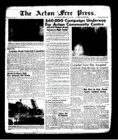 Acton Free Press (Acton, ON), May 11, 1961