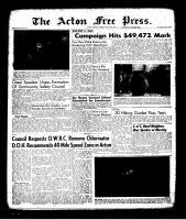 Acton Free Press (Acton, ON), May 25, 1961