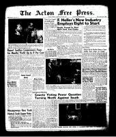 Acton Free Press (Acton, ON)20 Jul 1961