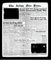 Acton Free Press (Acton, ON), October 5, 1961