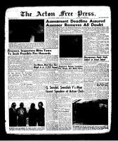 Acton Free Press (Acton, ON)12 Oct 1961