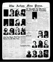 Acton Free Press (Acton, ON)30 Nov 1961