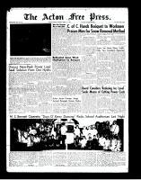 Acton Free Press (Acton, ON)1 Mar 1962