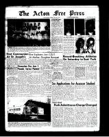 Acton Free Press (Acton, ON)24 May 1962