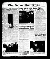 Acton Free Press (Acton, ON), February 28, 1963