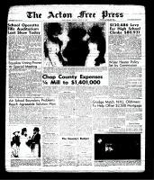 Acton Free Press (Acton, ON), March 7, 1963