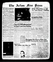 Acton Free Press (Acton, ON), March 14, 1963